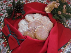 CRANBERRY AND ALMOND SHORTBREADS
